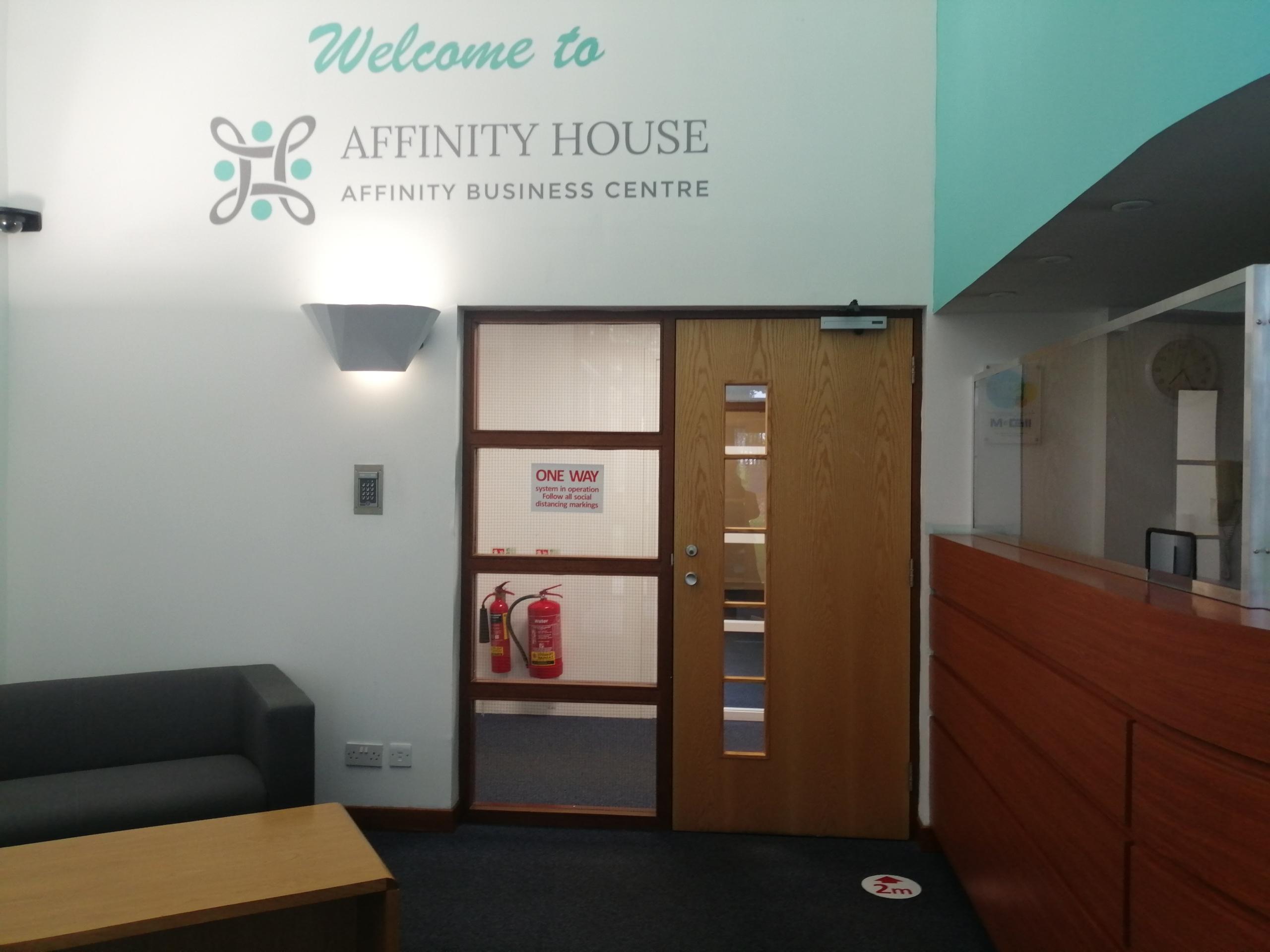 Affinity reception